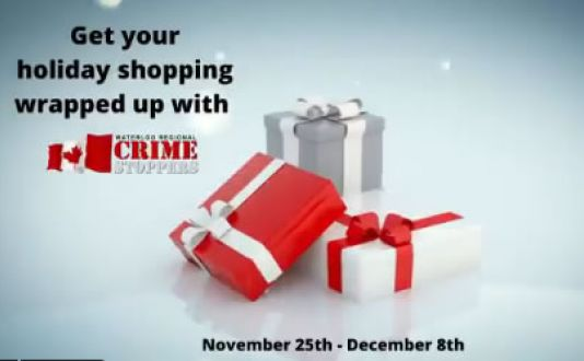 Get your holiday shopping done with Waterloo Crime Stoppers Christmas Auction!