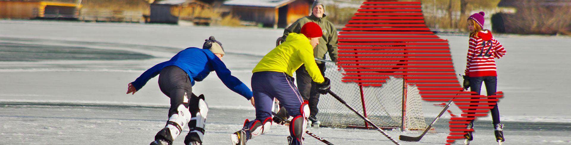 Programs - Outdoor hockey game